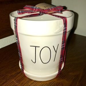 Rae Dunn Joy Christmas pot